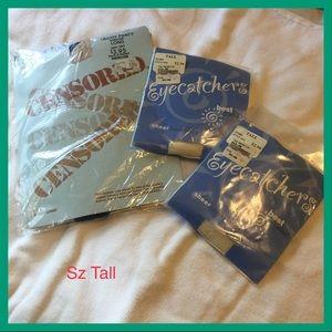 Accessories - 3/$13  3pr Pantyhose, sz Tall